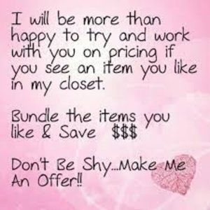 🎉🌷If you ❤️ it, make a reasonable offer🌷🎉